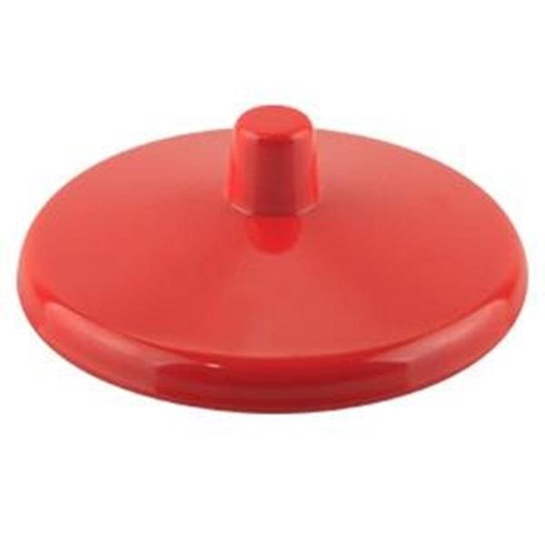 Tutup Gelas Polos 3.4 inch Merah - Glori Melamine 104