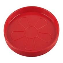 Alas Gelas 3.25 inch Merah - Glori Melamine 102