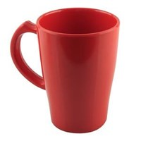 Cangkir Besar 400 ml Merah - Glori Melamine 978