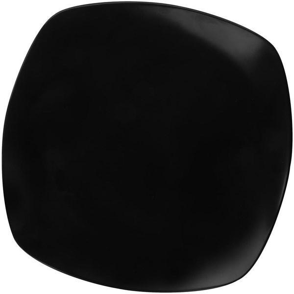 Piring Ceper Segi Empat 9 inch Hitam - Glori Melamine 2490