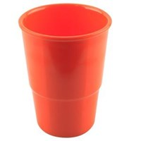 GLORI MELAMINE 812-large glasses of 400 ml Orange