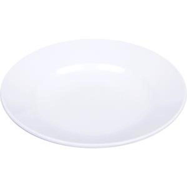 Piring Makan Cekung 9 inch Putih - Glori Melamine 2009
