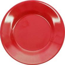 Piring Makan Ceper 10 inch Merah - Glori Melamine