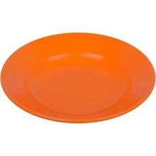 Piring Makan Cekung 9 inch Orange - Glori Melamine