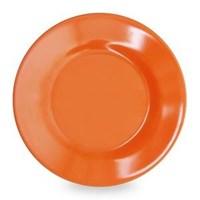 Piring Makan Ceper 9 inch Orange - Glori Melamine 2190