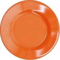 Piring Makan Ceper 8 inch Orange - Glori Melamine 2180