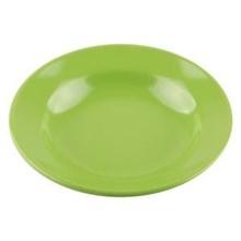 Piring Makan Cekung 8 inch Hijau - Glori Melamine