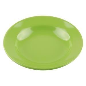 Dari Piring Makan Cekung 8 inch Hijau - Glori Melamine 2008  0