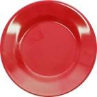 Piring Makan Ceper 7 inch Merah - Glori Melamine 2170  1