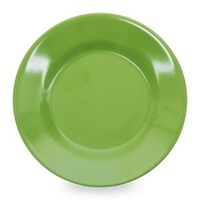 Piring Makan Ceper 6 inch Hijau - Glori Melamine 2160