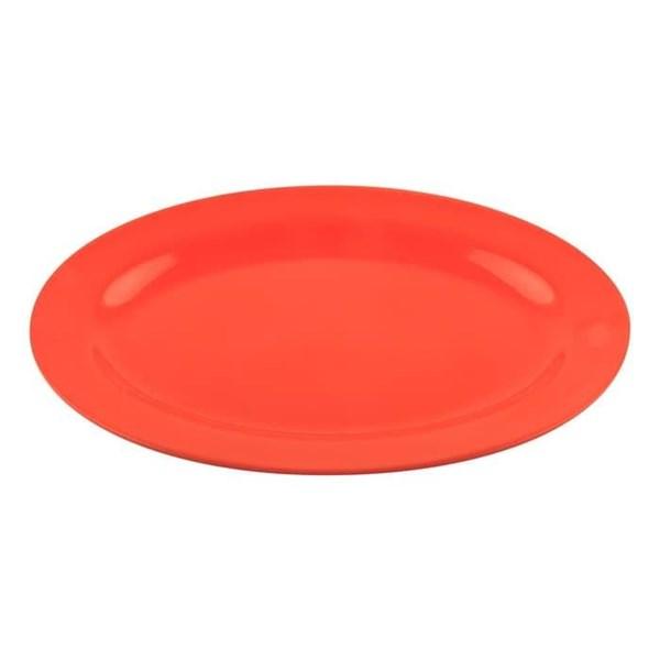 Piring Makan 8 inch Orange - Ifiancy Melamine 2007