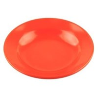 Piring Makan Cekung 5 inch Orange - Glori Melamine