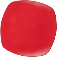 Plates Flat Establishments 4 10 inch Red - Glori Melamine 2410