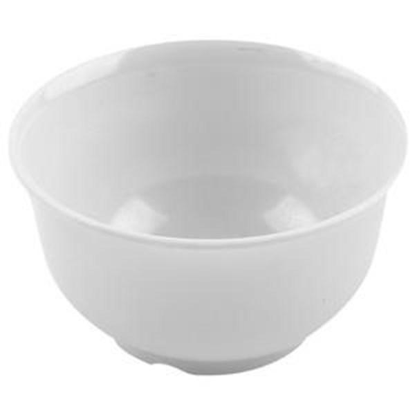 Mangkok - Mangkuk Nasi 3.5 inch Putih - Glori Melamine 4135