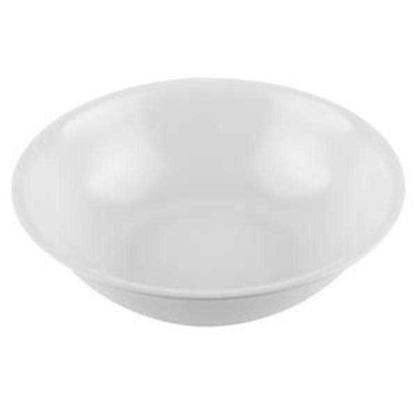 "GLORI MELAMINE 4508-8 ""inch Noodle Bowl White"