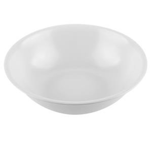 "GLORI MELAMINE 4507-Noodle Bowl 7 ""inch White"