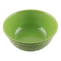 Mangkok - Mangkuk Sop Ombak 7 inch Hijau - Glori Melamine 4370