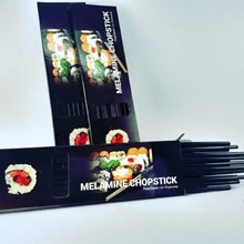 Chopsticks - Sumpit 9.5 inch Hitam - Glori Melamine 80911