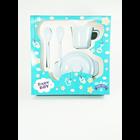 Produk dan Peralatan Bayi Set Alat Makan Bayi (Baby Set Melamine) Glori Melamine SET.001.BM - Biru Muda 3