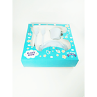 Produk dan Peralatan Bayi Set Alat Makan Bayi (Baby Set Melamine) Glori Melamine SET.001.BM - Biru Muda 1
