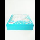 Produk dan Peralatan Bayi Set Alat Makan Bayi (Baby Set Melamine) Glori Melamine SET.001.BM - Biru Muda 2
