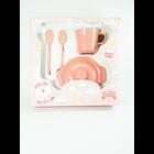 Produk dan Peralatan Bayi Baby Set Melamin (Alat Makan Bayi) Glori Melamine SET.002.BM - Pink 4
