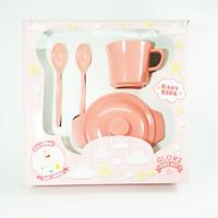 Jual Produk dan Peralatan Bayi Baby Set Melamin (Alat Makan Bayi) Glori Melamine SET.002.BM - Pink