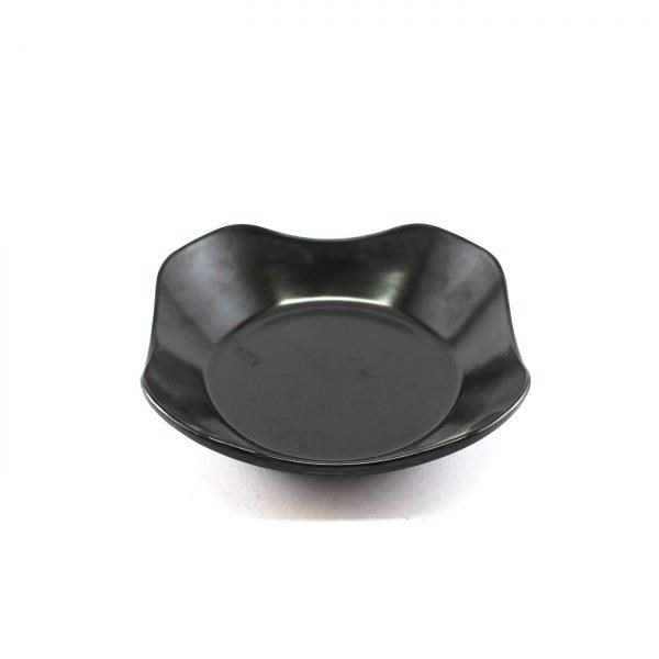 Low Wave Bowl Oriental 7 Inch Black – Glori Melamine Y4215