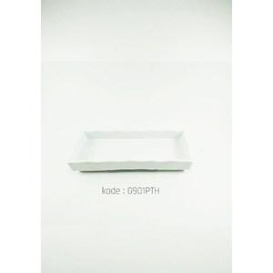 Piring Bumbu Japan 18 Cm Putih – Glori Melamine 901