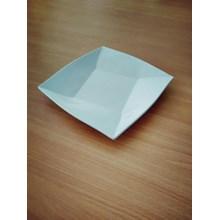 Piring Ceper Segi 4 Oriental 6.5 Inch Putih – Glor