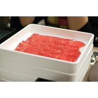 Jual Tempat Daging Shabu 20cm X 20cm X 2cm Putih - Glori Melamine 443 2