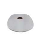 Piring Ceper Segi Empat Ulir 7 inch Putih (Doff) – Glori Melamine G2407PTH 1