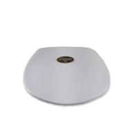 Piring Ceper Segi Empat Ulir 6 inch Putih (Doff) – Glori Melamine G2406PTH