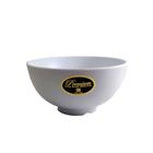 Mangkok Nasi Ulir 6.5 inch Putih (Dove) – Glori Melamine G4065PTH 1