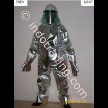 Pakaian Pemadam Alluminised Tempex