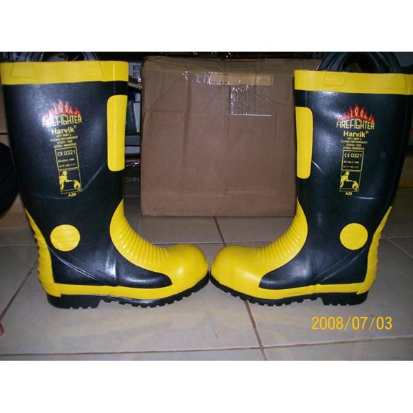 Fireman Boots Harvik Steel Shank