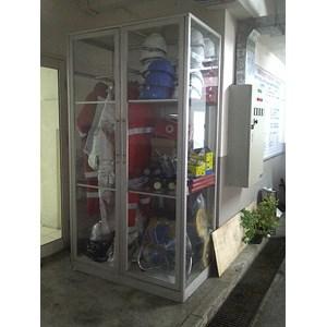 Box APD Lemari Safety Atau Showcase