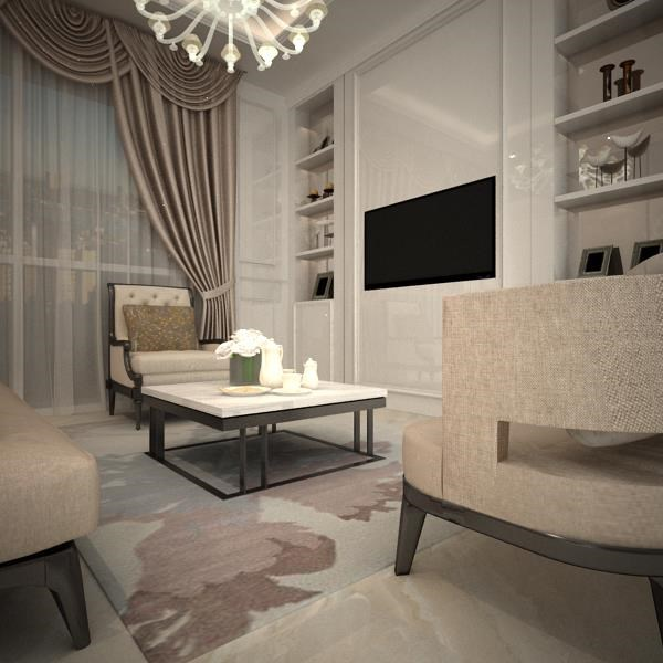 Ruang Keluarga Modern Klasik By Pt Atelli Joinerindo Nusantara