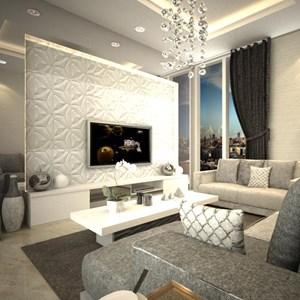 Ruang Keluarga Modern  By PT. Atelli Joinerindo Nusantara