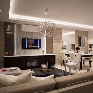Ruang Keluarga Glamor By PT. Atelli Joinerindo Nusantara