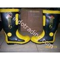 Fireman Sepatu Boots Harvik Baja Shank