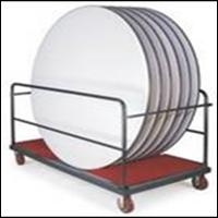 Jual (Perabot Hotel) (Troli Hotel) EX: Round Table Trolley