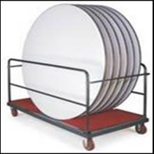 (Furniture) (Trolley) Ex: Round Table Trolley