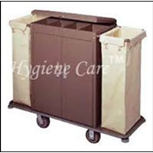 Troli Hotel  House Keeping Trolley  Services Handle