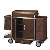 Jual Troli Hotel  House Keeping Trolley  Services Handle 2
