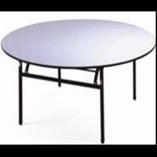 Meja Hotel  Round Table PVC