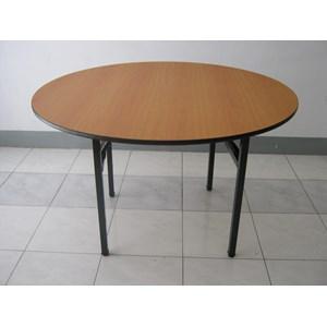 Jual Meja Hotel Round Table PVC HPL Harga Murah Bandung