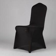 Aksesoris Kursi hotel Seat Cover Chair Bahan Streecth