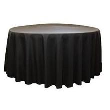 Aksesoris Meja Untuk Hotel Cover Table Meja Bundar Bahan Lotto atau Paragon