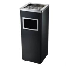 Tempat Sampah Publik Standing Ashtray Kotak Ukuran 30x24x62